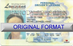 Louisiana Fake ID