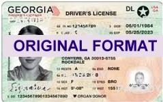 GEORGIA  DRIVER LICENSE GEORGIA FAKE ID CARD SCANNABLE GEORGIA FAKE ID