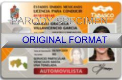 mexico fake driver license scannable mexico driving license