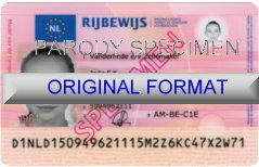 fake netherlands driver license fake id netherlands