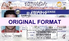 NEVADA FAKE IDS SCANNABLE FAKE NEVADA ID WITH HOLOGRAMS