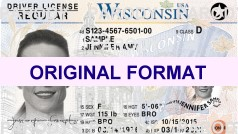 WISCONSIN FAKE IDS WISCONSIN SCANNABLE FAKE ID CARDS WITH HOLOGRAMS